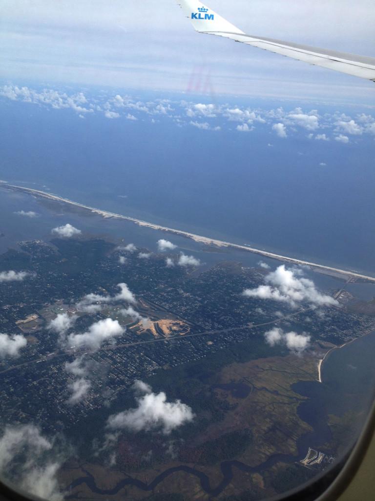 Naar New York naar KLM