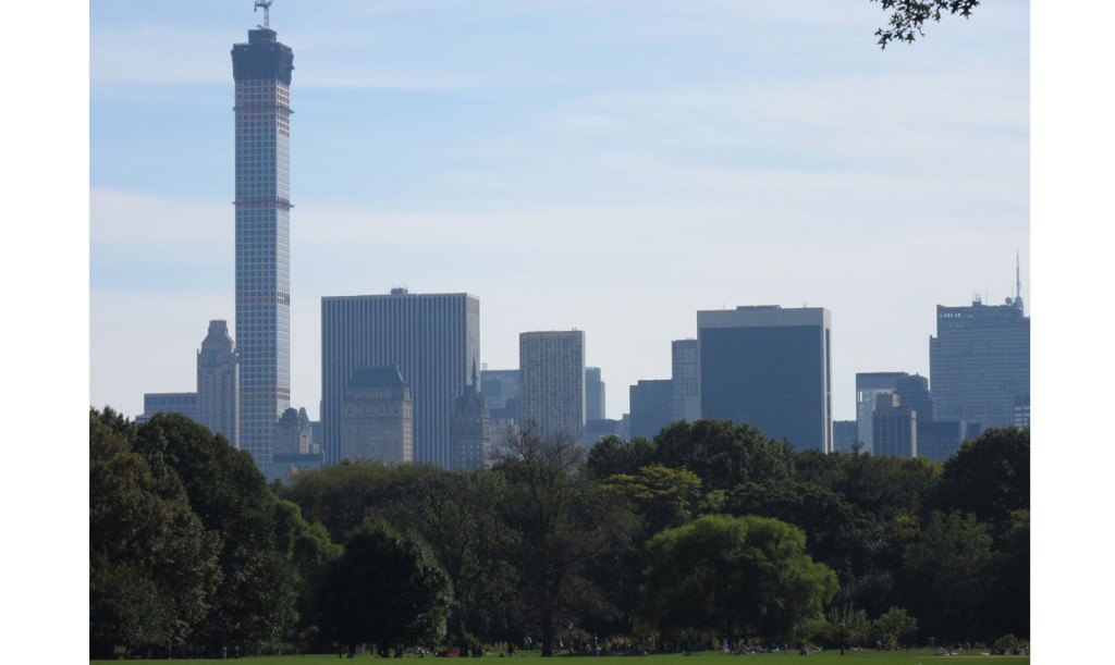 Central Park skyline New York