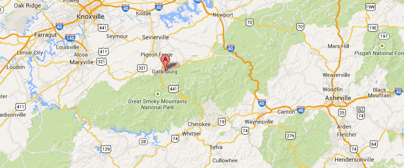 Gatlinburg_google_maps