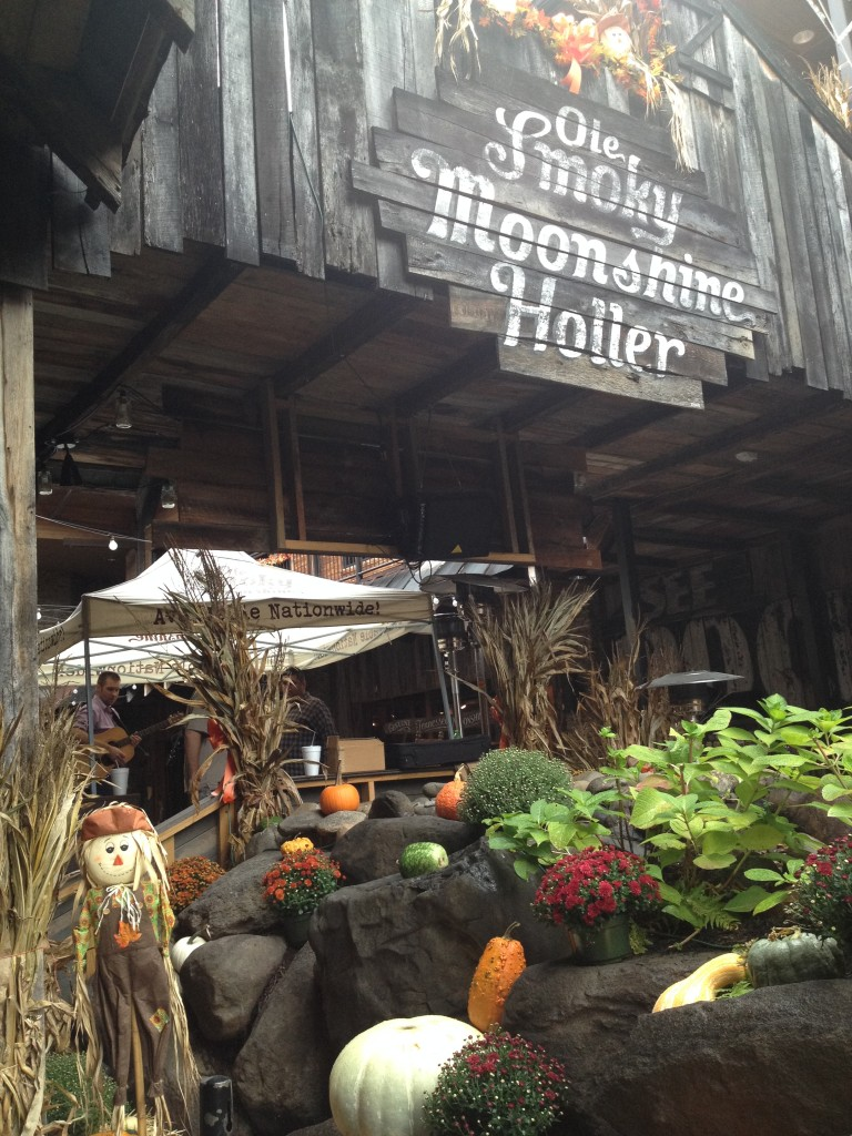 Ole Smoky Tennessee Moonshine Holler in Gatlinburg