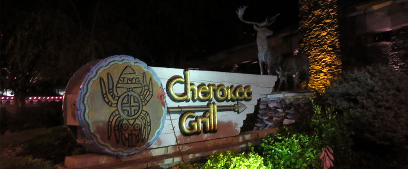 Restaurant Cherokee Grill in Gatlinburg Great Smoky Mountains