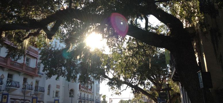 Wandelen door St Augustine