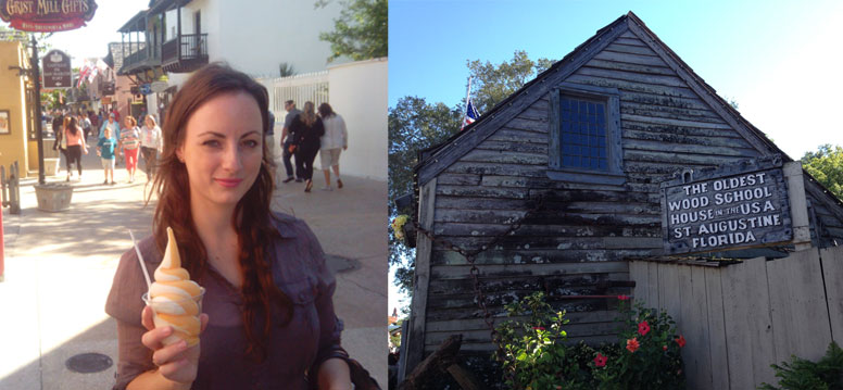 Oudste houten schoolgebouw in Amerika St Augustine