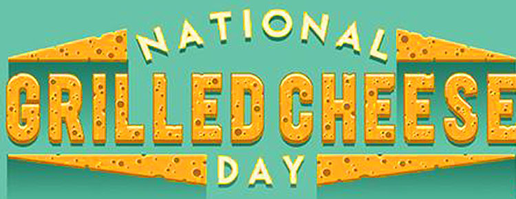 National grilled cheese day in Amerika