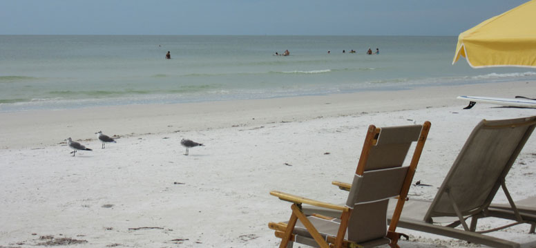 Siesta Key Beach strand in Florida