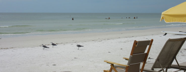 Siesta Key strand in Florida
