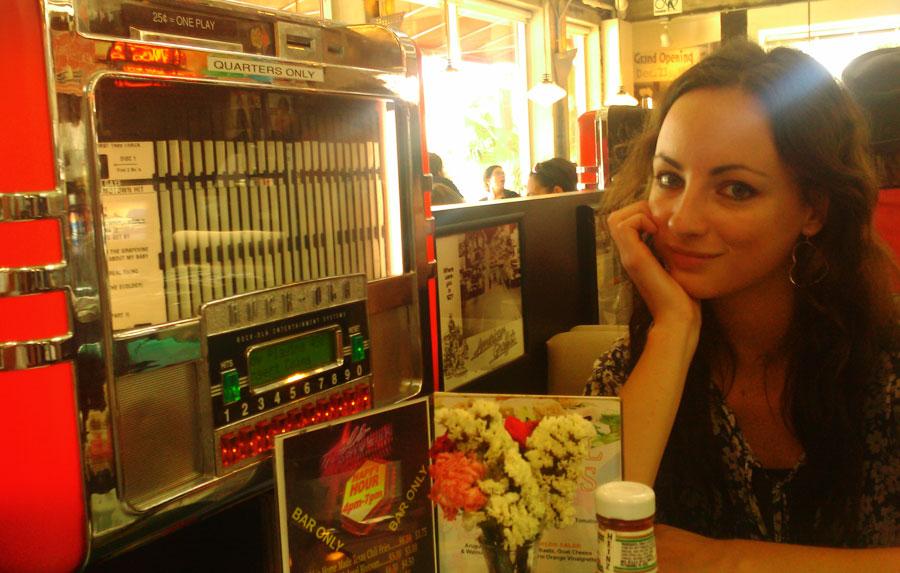 American diner in Los Angeles