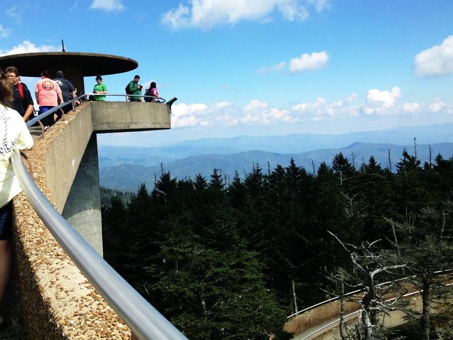 Rondreis in Amerika Clingman's Dome Great Smoky Mountains