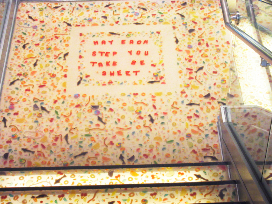Snoepwinkel in New York