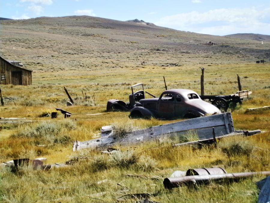 Spookstad in Amerika verlaten Bodie State Historic Park