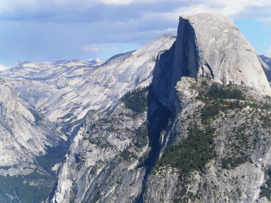 Yosemite National Park Glacier Point Uitzicht