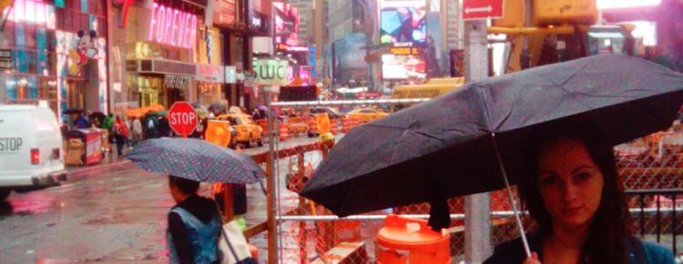 wat doen tijdens regen in New York