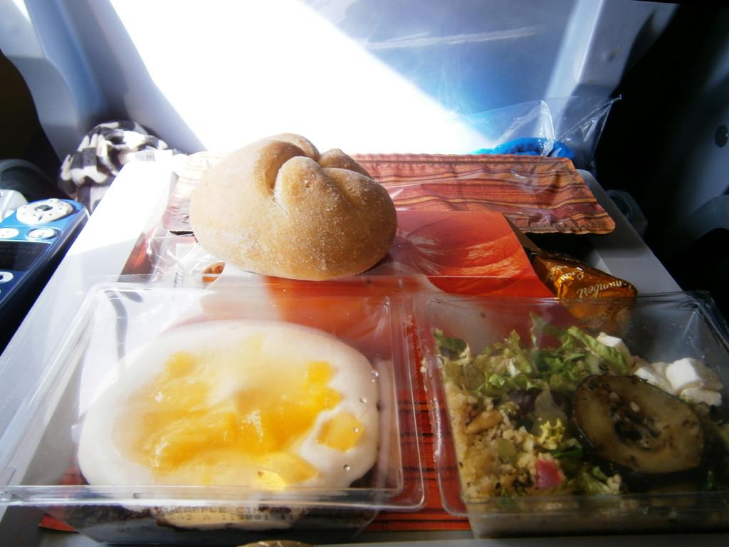 Vliegtuig-eten-van-KLM