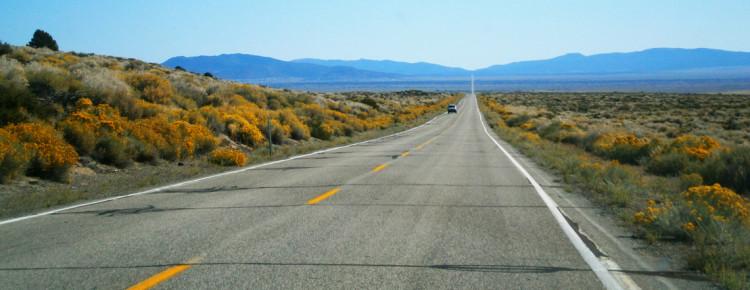 autowegen in Amerika