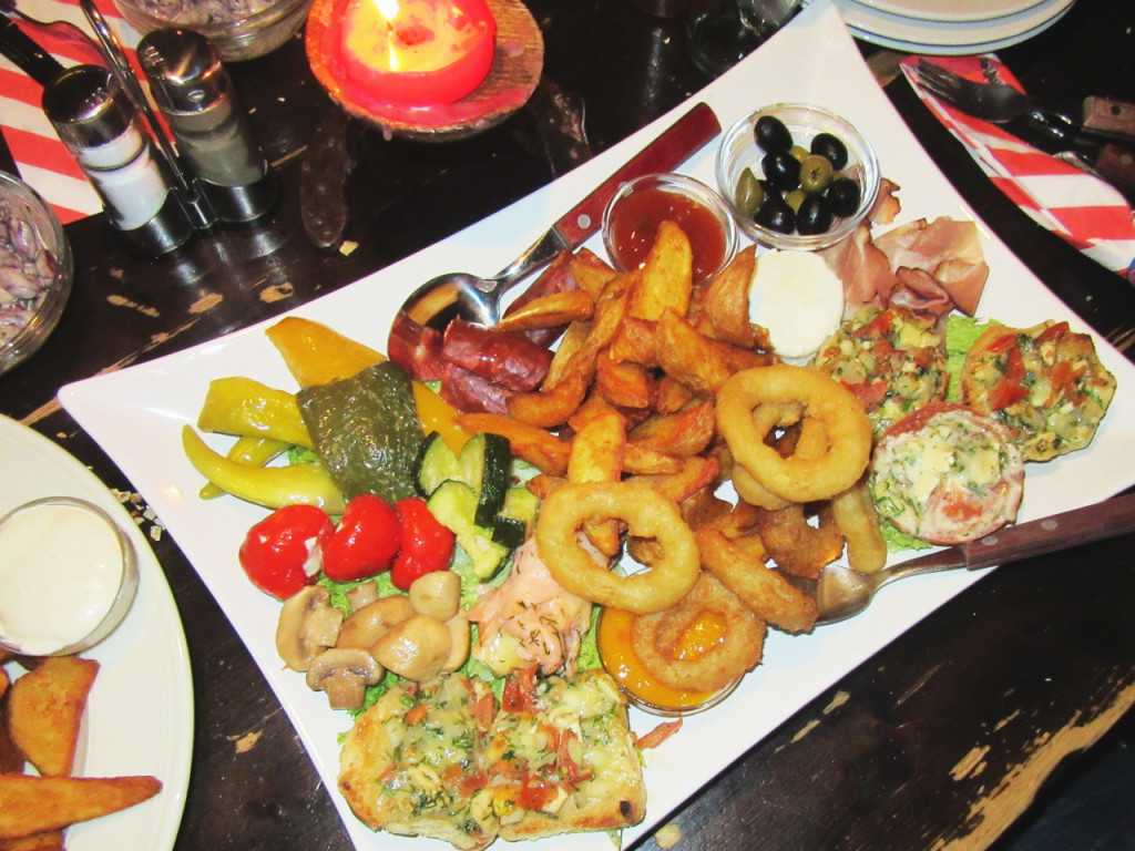 voorgerecht-Amerikaans-restaurant-Duitsland-Texas-riverranch