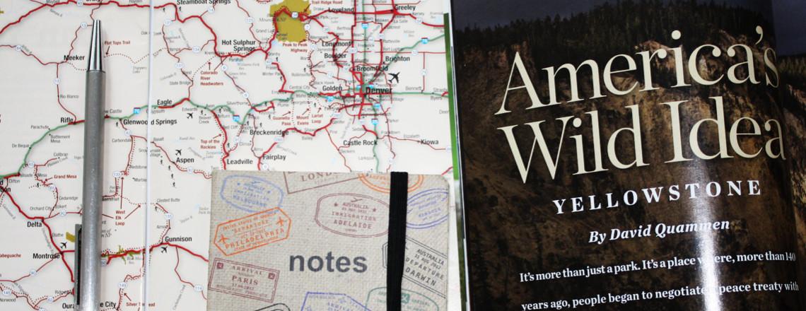 Voorbereiding Amerika rondreis 2016: Route en aftellen!