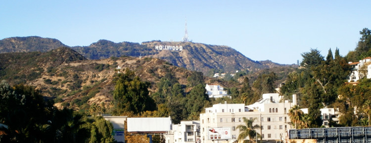 Hollywood-letters-in-Los-Angeles-Amerika