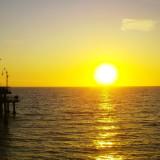 Westkust Amerika reis dag 25: Mistig Santa Monica