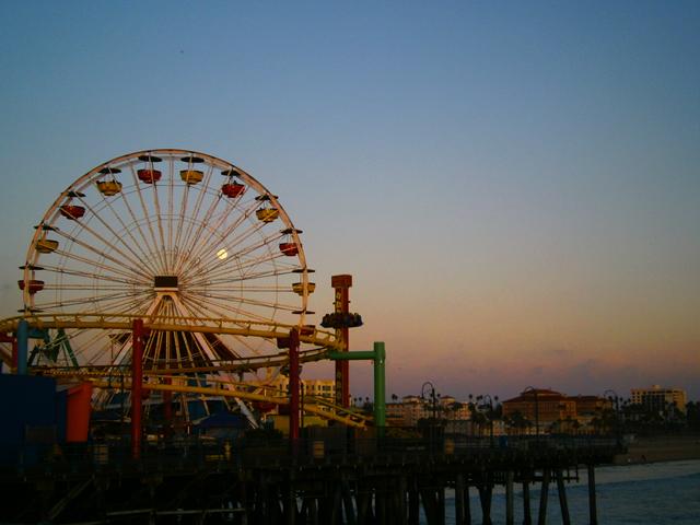 Santa-Monica-Pier-reuzenrad-Amerika