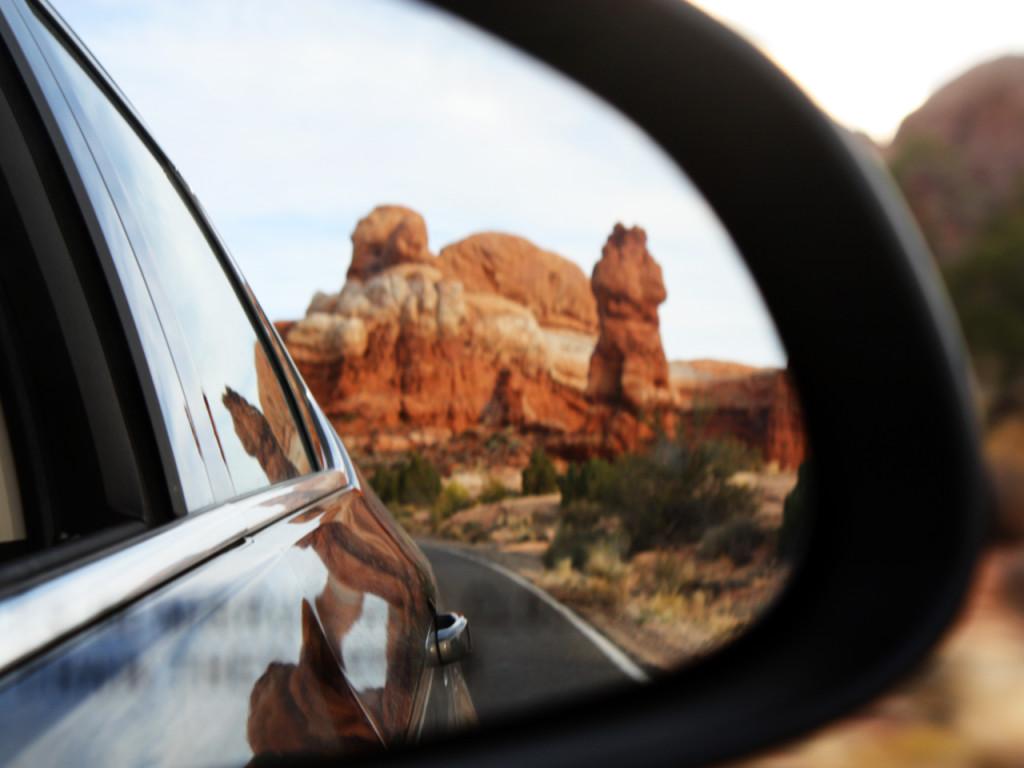 arches-car-mirror