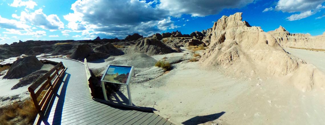 Amerika rondreis in 360 graden foto's deel 2: Badlands National Park