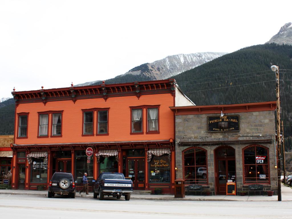 Buildings-Silverton-Colorado