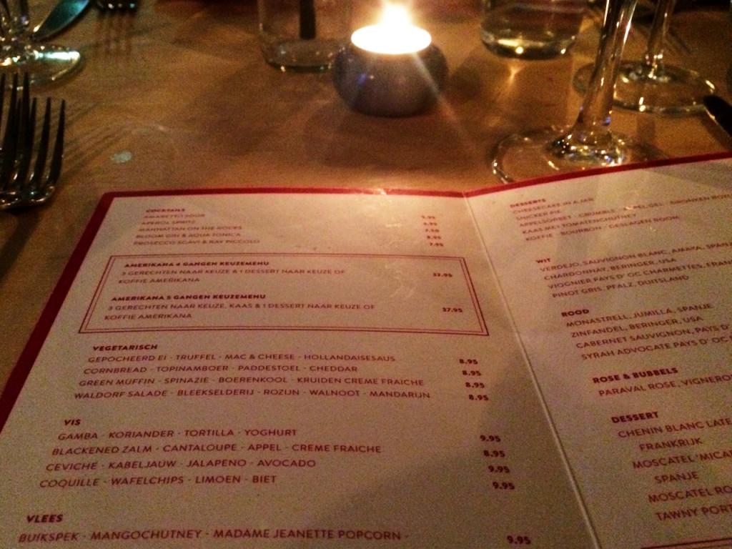 Menu-Amerikana-in-Utrecht-restaurant