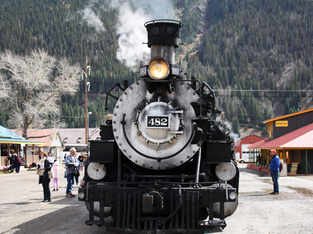 Trein-USA-Durango-Silverton-Narrow-Gauge-Railroad-Train