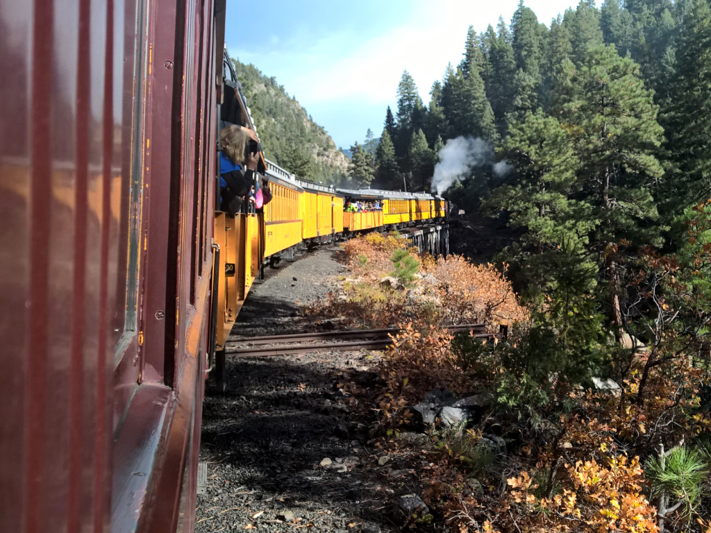 Uitzicht-Trein-Durango-Silverton