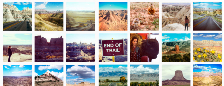 Instagram-Amerika-foto's-top-februari
