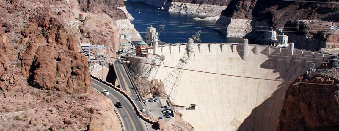 Hoover Dam in Amerika