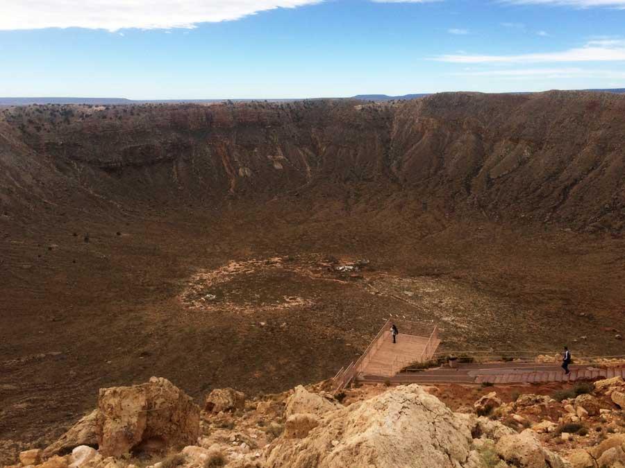 Krater-in-Arizona-Amerika