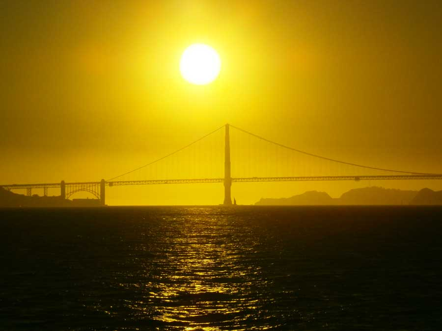 San-Francisco-zonsondergang