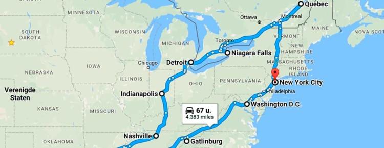 Amerika-reis-rondreis