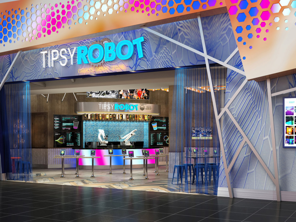 Robot cafe Tipsy in Las Vegas
