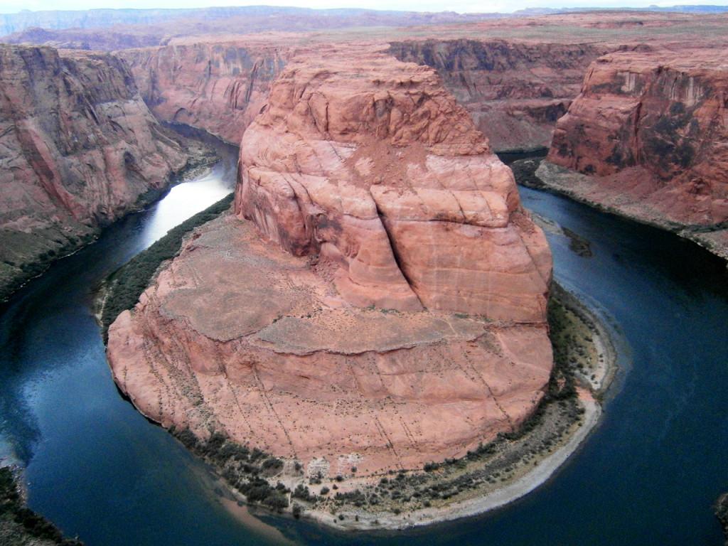 doen in Arizona - bezienswaardigheden -Horseshoe-Bend uitzicht Amerika