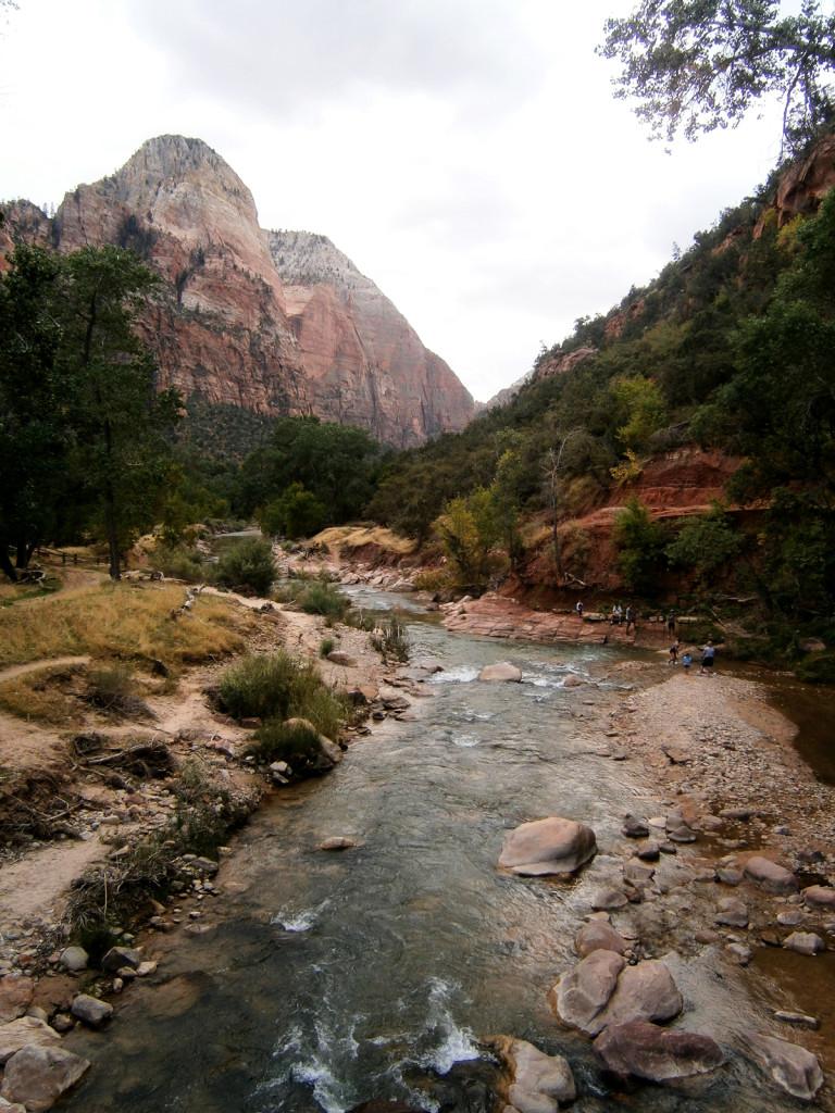 Zion-National-Park-Uitzicht-Amerika