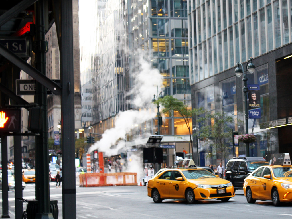 Amerika-reis-blog-taxi's-in-New-York