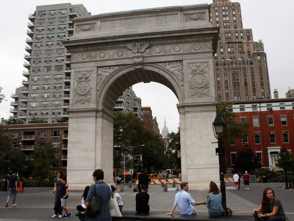 Washington Square Park New-York-Park