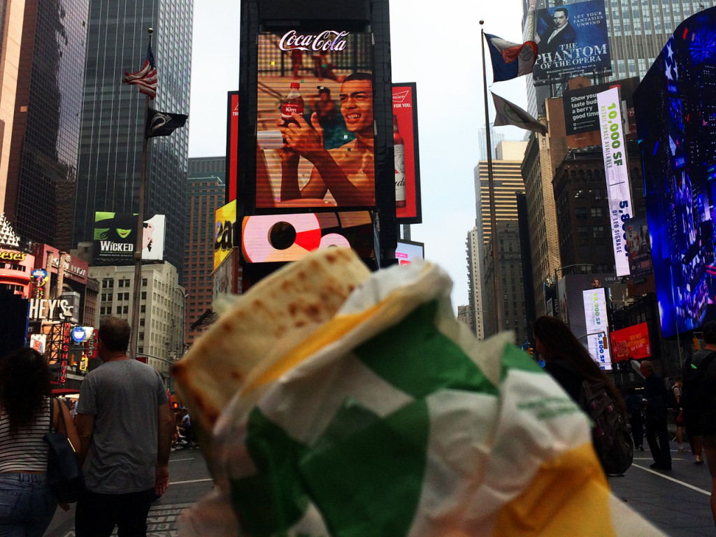 Times-Square-eten-in-New-York