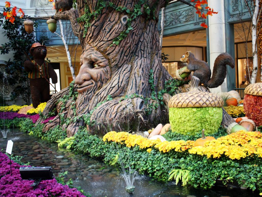 Herfst-tuin-Bellagio-Hotel-Las-Vegas-Amerika