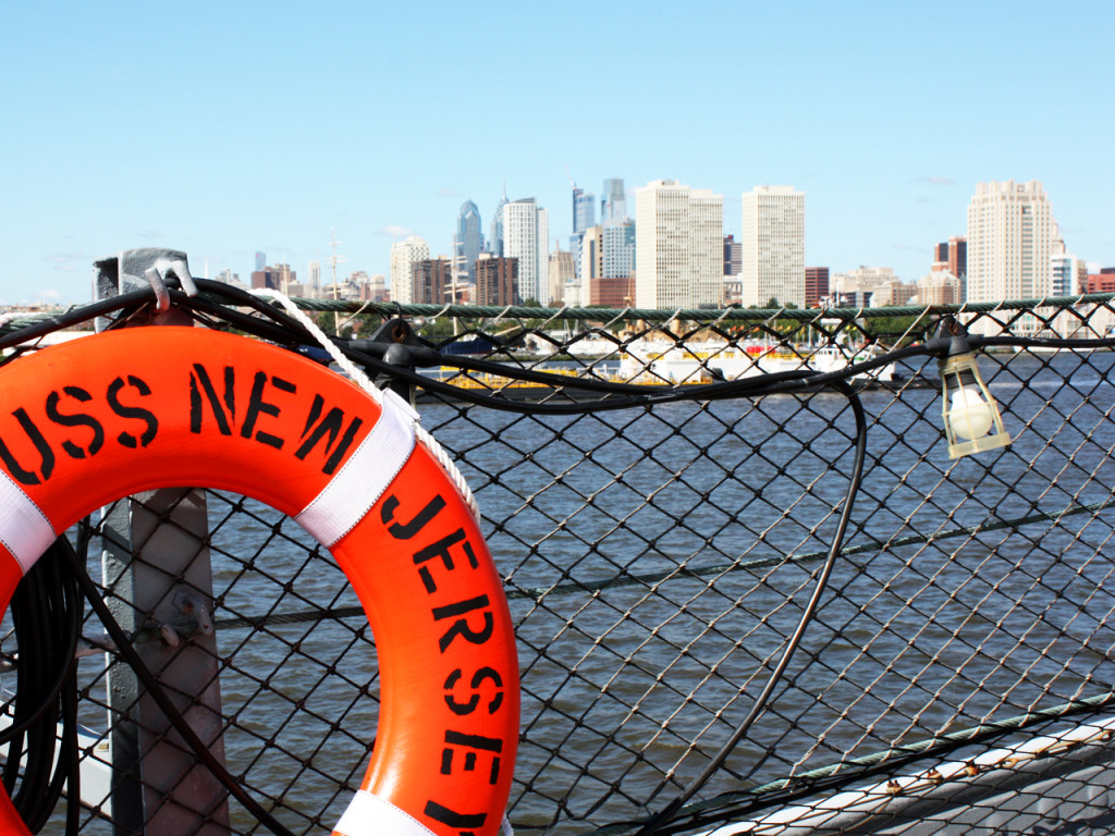 New-Jersey-Battleship-skyline-Philadelphia
