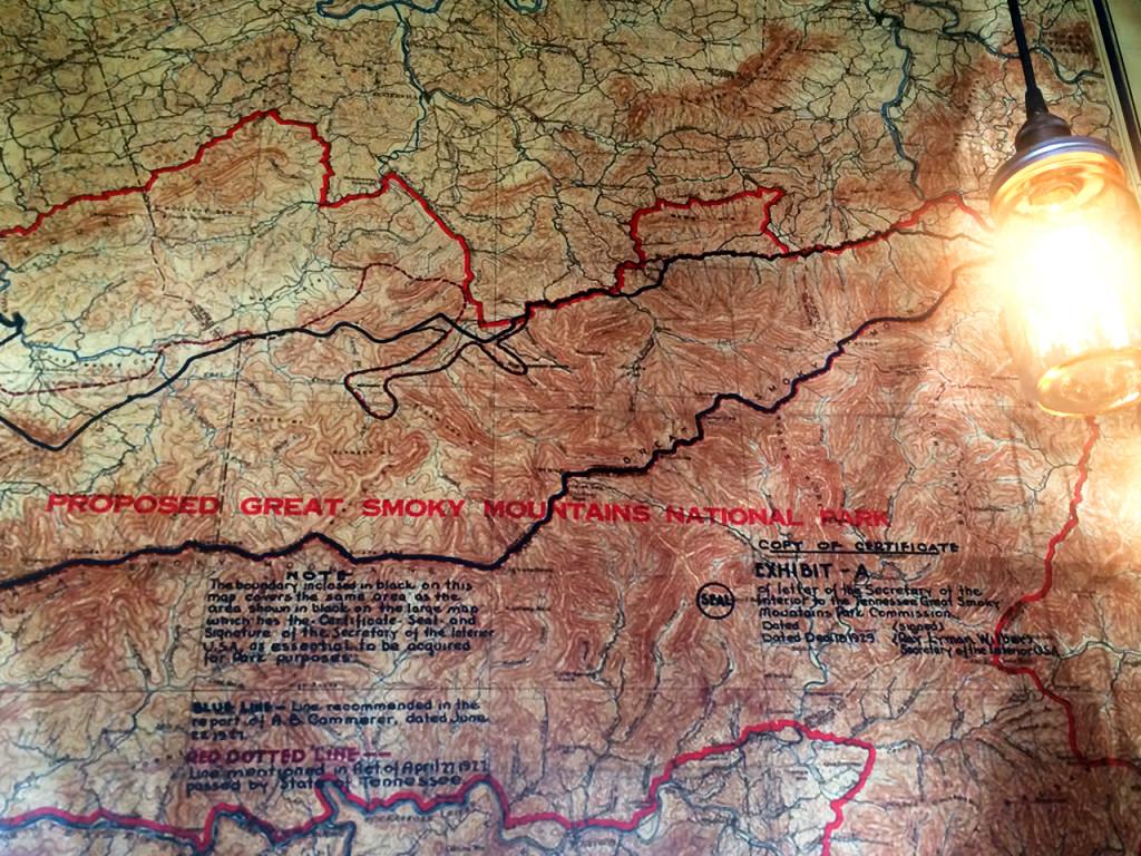 Great-Smoky-Mountains-Map-Crockett's-Breakfast-Camp
