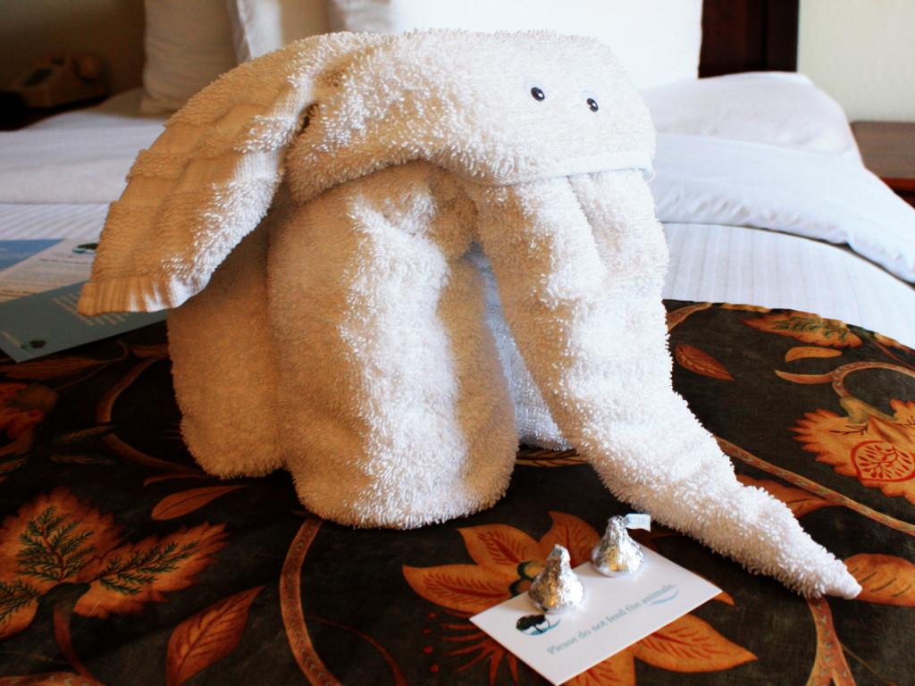 Olifant-handdoek