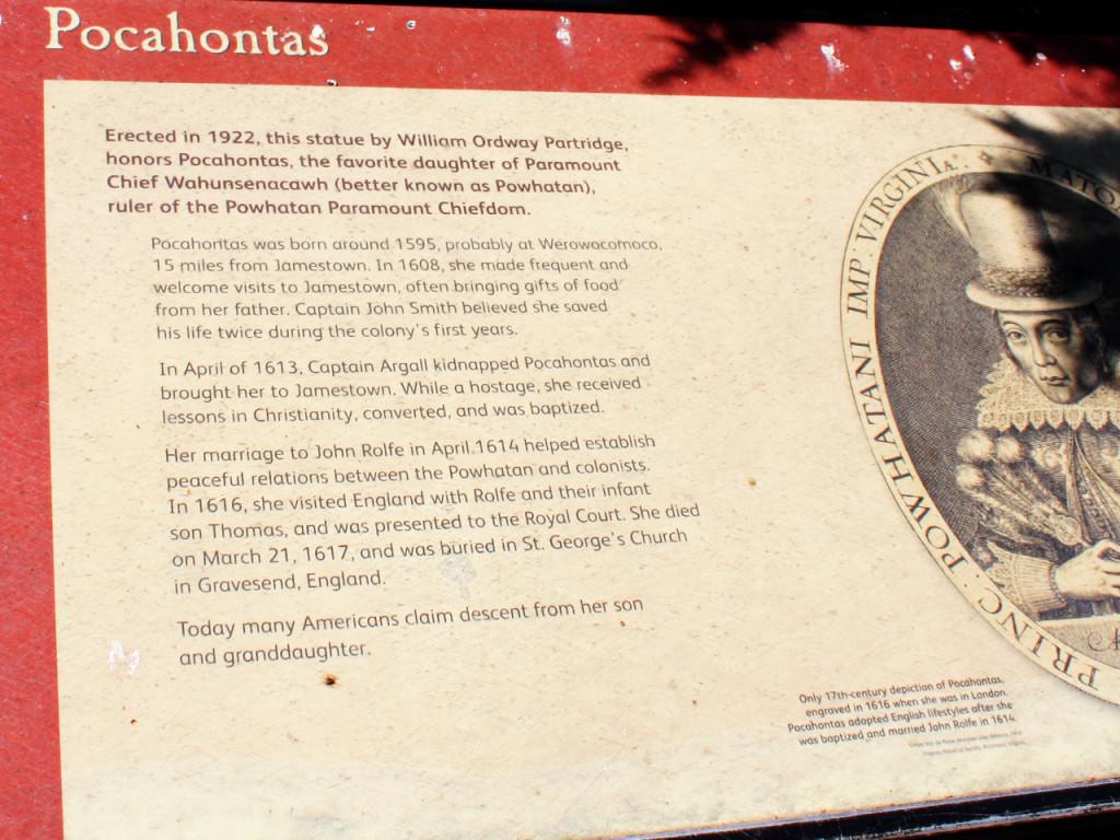 Pocahontas-Jamestown-Amerika