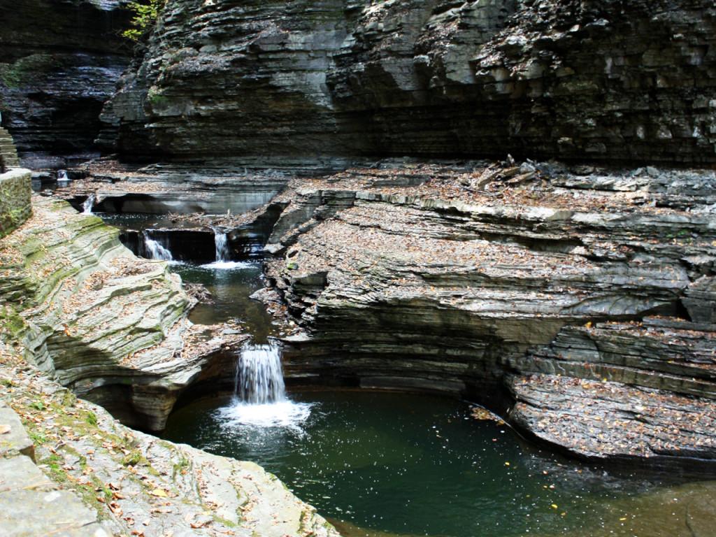 Watervallen-Watkins-Glenn-State-Park