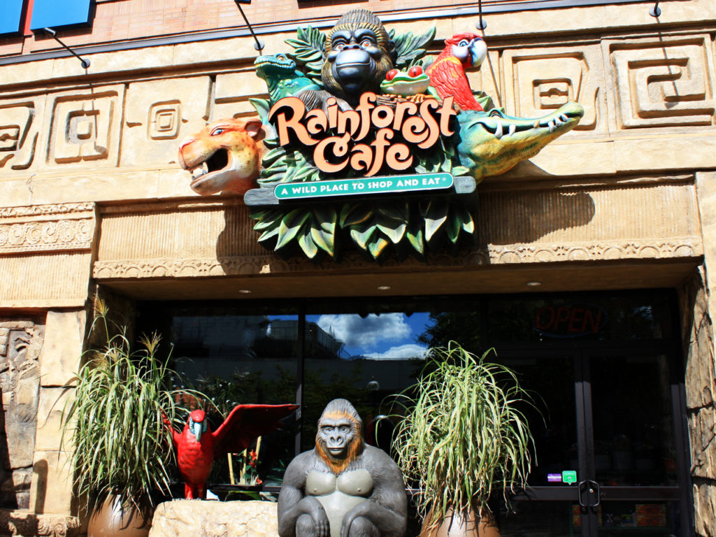 Eten-in-Rainforest-Cafe