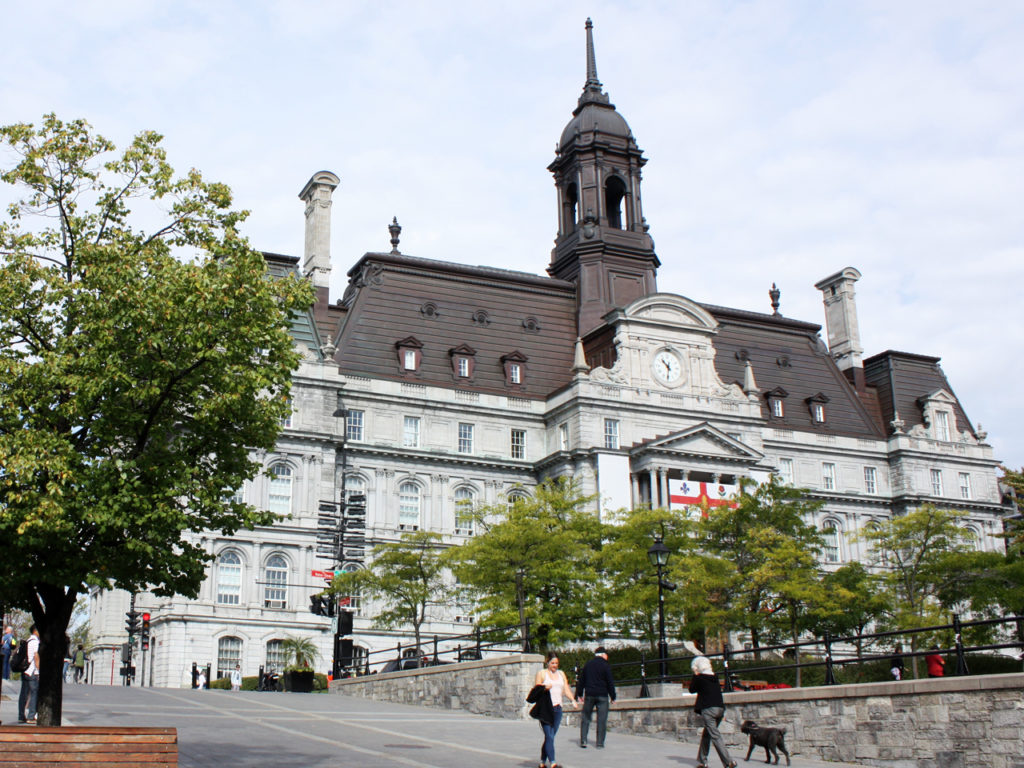 Stadhuis-Montreal