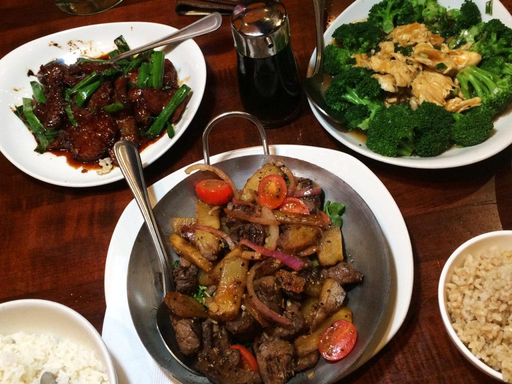 eten-bij-PF-Changs-Amerika