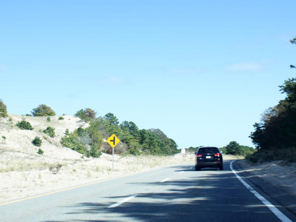 Cape-Cod-rijden-auto